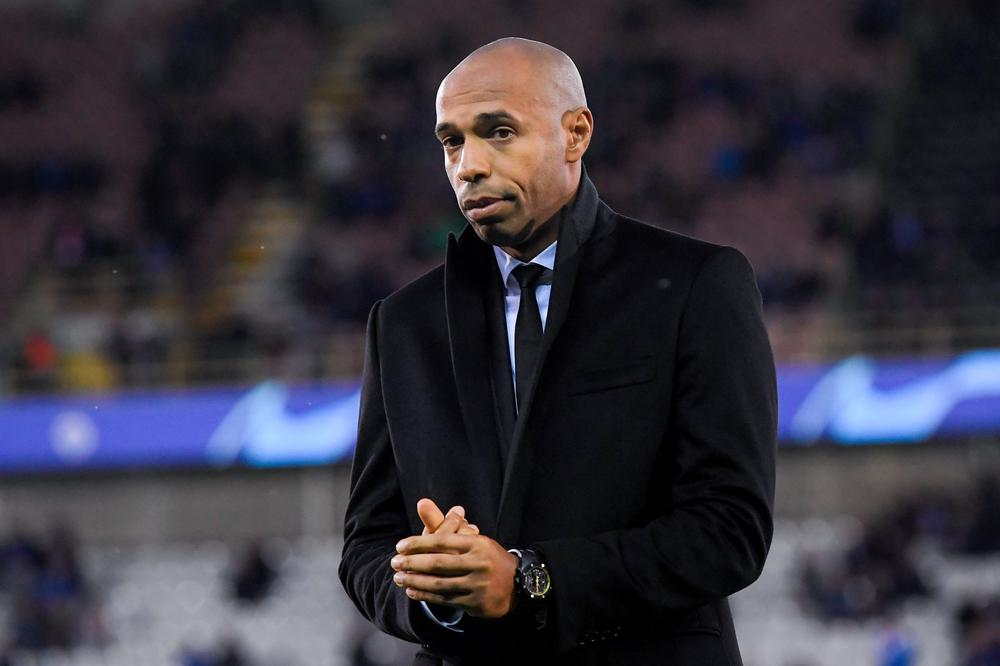 Thierry Henry Head Coach of Montreal Impact