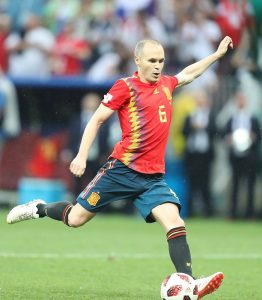 Highest paid soccer players - Iniesta