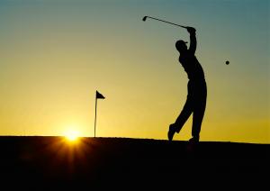 Most popular sports - golf