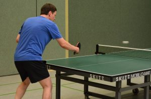 Most popular sports - table tennis