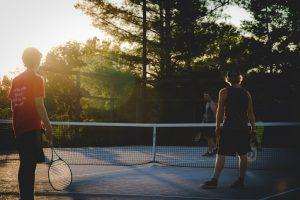 Most popular sports - tennis