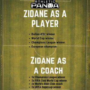 zidane player/coach achievements