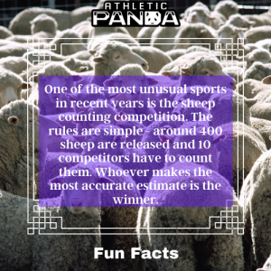 Fun Facts sheep counting as a sport