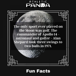 Fun Facts golf on the moon