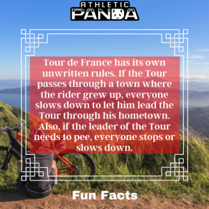 Fun Facts Tour de France unwritten rules